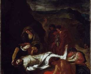 Положение во гроб Христа — Эжен Делакруа