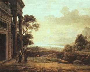 The Expulsion of Hagar — Клод Лоррен