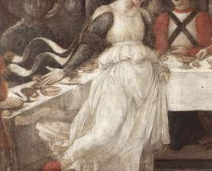 The Feast of Herod: Salome's Dance (detail) — Филиппо Липпи