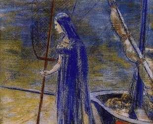The Fisherwoman — Одилон Редон