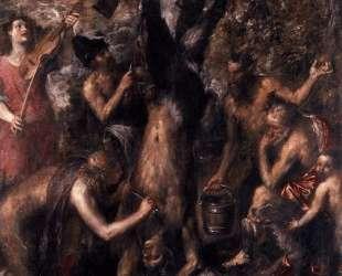 The Flaying of Marsyas — Тициан