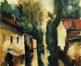 The Flodded Village — Морис де Вламинк