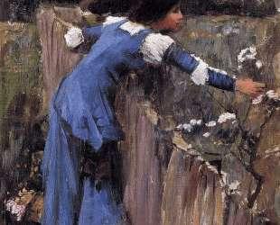 Собирательница цветов — Джон Уильям Уотерхаус