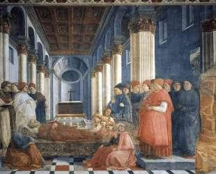 The Funeral of St. Stephen — Филиппо Липпи