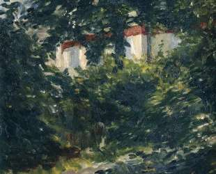 The garden around Manet's house — Эдуард Мане