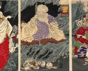 The Ghost Triptych — Цукиока Ёситоси