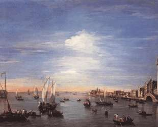 The Giudecca Canal with the Zattere — Франческо Гварди
