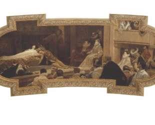 The Globe Theatre in London — Густав Климт