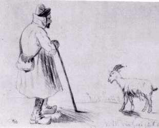 The Goat Herd — Винсент Ван Гог