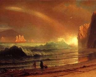 The Golden Gate — Альберт Бирштадт