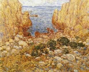 The Gorge — Appledore, Isles of Shoals — Чайльд Гассам