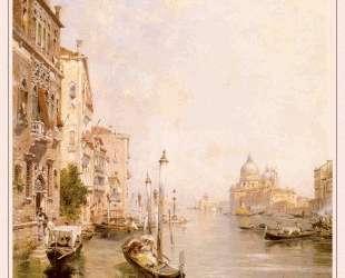 The Grand Canal, Venice — Франц Рихард Унтербергер