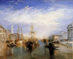 The Grand Canal, Venice, engraved by William Miller — Уильям Тёрнер