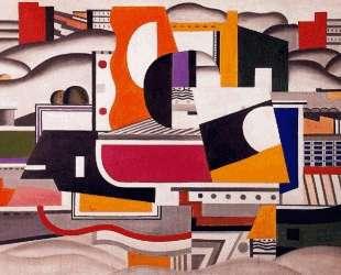 The great tug — Фернан Леже