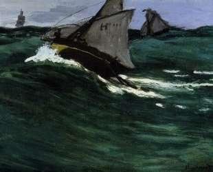 Зеленая волна — Клод Моне