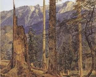 The Hollengebirge at Ischl — Фердинанд Георг Вальдмюллер