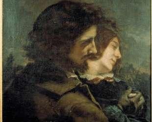 Счастливые любовники — Гюстав Курбе