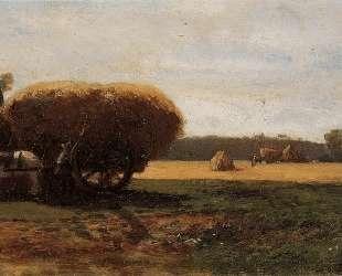 The Harvest — Камиль Писсарро