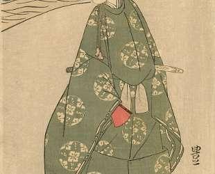 The Heian Courtier — Утагава Тоёкуни