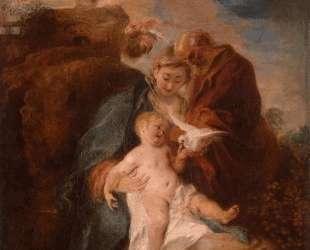 The Holy Family — Антуан Ватто