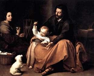The Holy Family with the Little Bird — Бартоломе Эстебан Мурильо