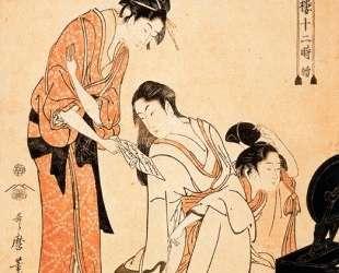The Hour of the Monkey — Китагава Утамаро