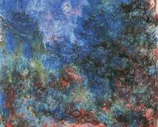 Дом в Живерни, вид из розового сада — Клод Моне