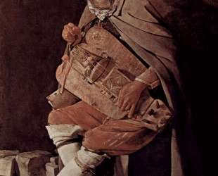The Hurdy-Gurdy Player, also called Hurdy-Gurdy Player with Hat — Жорж де Латур