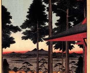The Inari Shrine at Oji — Хиросиге