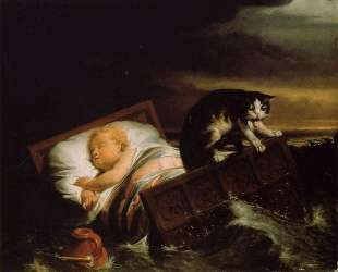 Наводнение в Бисбосе в 1421 году — Лоуренс Альма-Тадема