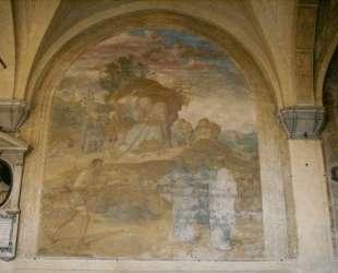 The Investiture of the Leper — Андреа дель Сарто