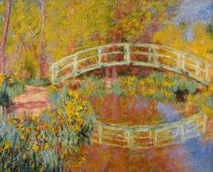 Японский мостик (Мостик в саду Моне) — Клод Моне