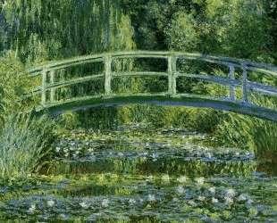 Японский мостик (Пруд с водяными лилиями) — Клод Моне