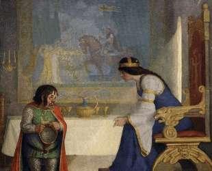 The lady Lyoness had the dwarf in examination — Ньюэлл Конверс Уайет