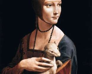 The Lady with the Ermine (Cecilia Gallerani) — Леонардо да Винчи