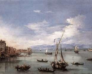 The Lagoon from the Fondamenta Nuove — Франческо Гварди