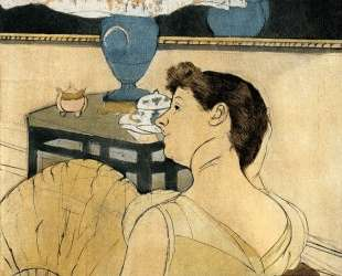 Лампа — Мэри Кассат