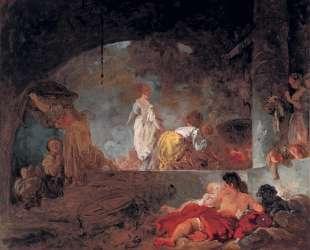 The Laundresses — Жан-Оноре Фрагонар