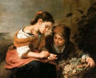 The Little Fruit-Seller — Бартоломе Эстебан Мурильо