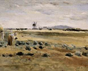 The Little Windmill at Gennevilliers — Берта Моризо