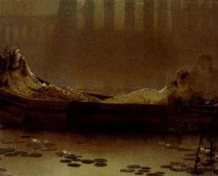 The lotus gatherers — Джон Эткинсон Гримшоу