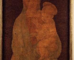 Мадонна великого герцога — Жан Огюст Доминик Энгр