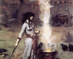 Магический круг — Джон Уильям Уотерхаус