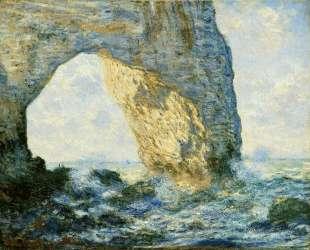 Маннпорт, Скальные ворота, запад Этрета — Клод Моне