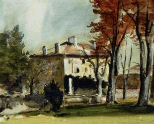 The Manor House at Jas de Bouffan — Поль Сезанн
