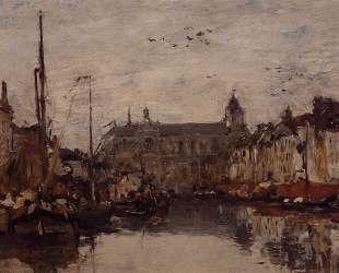 The Merchant Dock — Эжен Буден
