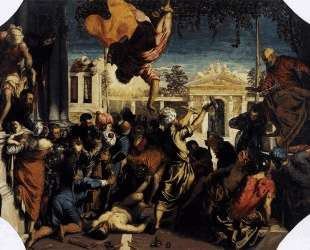 The Miracle of St Mark Freeing the Slave — Тинторетто