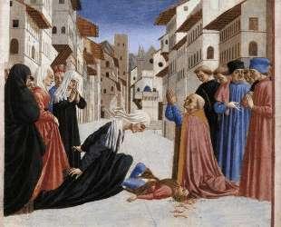 The Miracle of St. Zenobius — Доменико Венециано