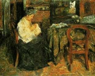 The mother sews — Марио Сирони