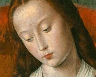 The Moulins Triptych (detail) — Жан Эй (Муленский мастер)